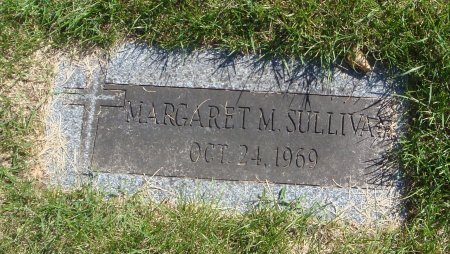 SULLIVAN, MARGARET  M. - Cook County, Illinois   MARGARET  M. SULLIVAN - Illinois Gravestone Photos