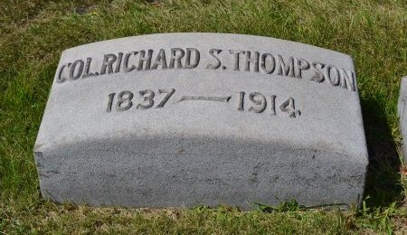 THOMPSON (CW), RICHARD S. - Cook County, Illinois | RICHARD S. THOMPSON (CW) - Illinois Gravestone Photos