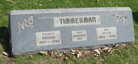 TIMMERMAN, BABY DAUGHTER - Cook County, Illinois | BABY DAUGHTER TIMMERMAN - Illinois Gravestone Photos