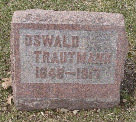 TRAUTMANN, OSWALD - Cook County, Illinois | OSWALD TRAUTMANN - Illinois Gravestone Photos
