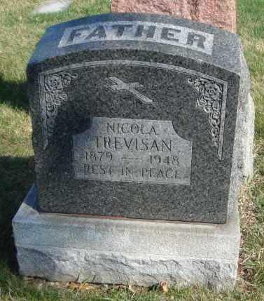 TREVISAN, NICOLA - Cook County, Illinois   NICOLA TREVISAN - Illinois Gravestone Photos