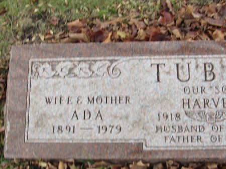 TUBER, ADA - Cook County, Illinois | ADA TUBER - Illinois Gravestone Photos