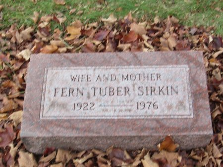 TUBER, FERN - Cook County, Illinois | FERN TUBER - Illinois Gravestone Photos