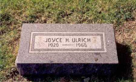 BLYTH ULRICH, JOYCE - Cook County, Illinois   JOYCE BLYTH ULRICH - Illinois Gravestone Photos