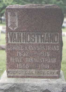 VANNOSTRAND, GEORGE Y. - Cook County, Illinois | GEORGE Y. VANNOSTRAND - Illinois Gravestone Photos