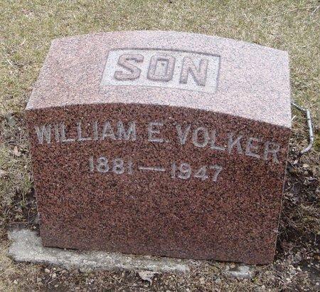 VOLKER, WILLIAM E. - Cook County, Illinois | WILLIAM E. VOLKER - Illinois Gravestone Photos