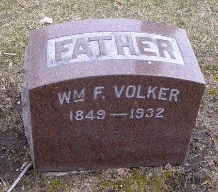 VOLKER, WILLIAM F. - Cook County, Illinois   WILLIAM F. VOLKER - Illinois Gravestone Photos