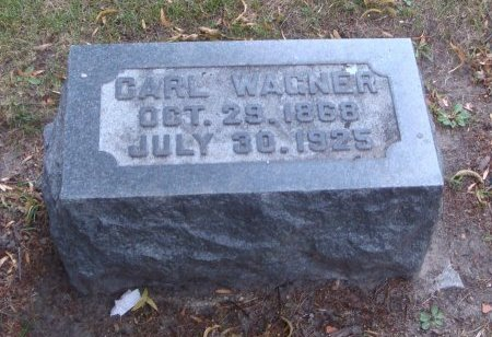 WAGNER, CARL - Cook County, Illinois | CARL WAGNER - Illinois Gravestone Photos