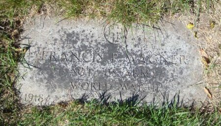 WAGNER, FRANCIS P. - Cook County, Illinois | FRANCIS P. WAGNER - Illinois Gravestone Photos