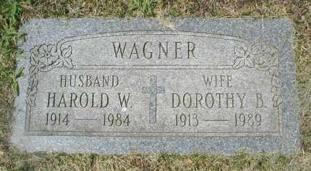 WAGNER, DOROTHY B. - Cook County, Illinois | DOROTHY B. WAGNER - Illinois Gravestone Photos
