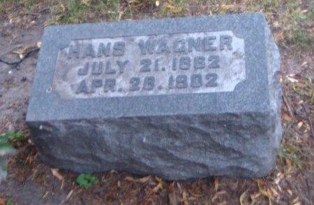 WAGNER, HANS - Cook County, Illinois | HANS WAGNER - Illinois Gravestone Photos