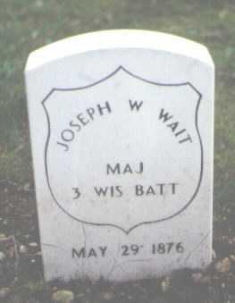 WAIT, JOSEPH W. - Cook County, Illinois | JOSEPH W. WAIT - Illinois Gravestone Photos