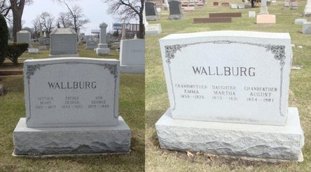 WALLBURG, MARY - Cook County, Illinois | MARY WALLBURG - Illinois Gravestone Photos