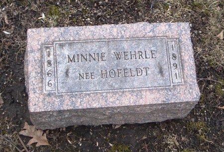 WEHRLE, MINNIE - Cook County, Illinois   MINNIE WEHRLE - Illinois Gravestone Photos