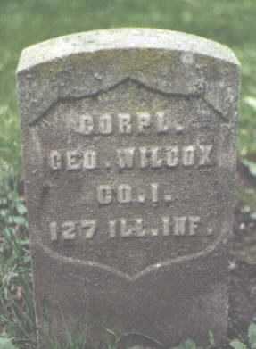 WILCOX, GEORGE - Cook County, Illinois   GEORGE WILCOX - Illinois Gravestone Photos