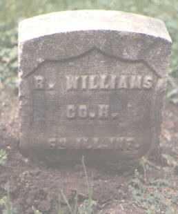 WILLIAMS, R - Cook County, Illinois   R WILLIAMS - Illinois Gravestone Photos