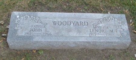WOODYARD, JOHN L. - Cook County, Illinois | JOHN L. WOODYARD - Illinois Gravestone Photos