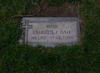 SIPULSKI YANEK, CHARLOTTE - Cook County, Illinois | CHARLOTTE SIPULSKI YANEK - Illinois Gravestone Photos