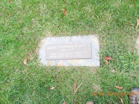 YATES, JUDGE STEPHEN R. - Cook County, Illinois   JUDGE STEPHEN R. YATES - Illinois Gravestone Photos