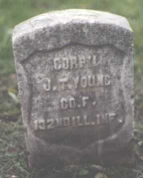 YOUNG, J. T. - Cook County, Illinois | J. T. YOUNG - Illinois Gravestone Photos