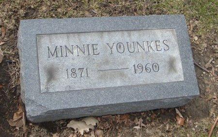 YOUNKES, MINNIE - Cook County, Illinois   MINNIE YOUNKES - Illinois Gravestone Photos