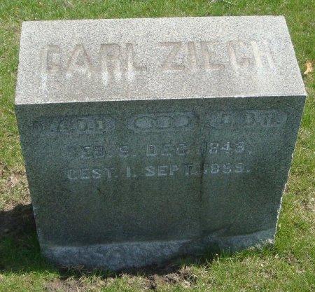 ZIECH, CARL - Cook County, Illinois | CARL ZIECH - Illinois Gravestone Photos