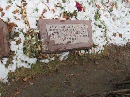 ZIMMERMAN, LAWRENCE  - Cook County, Illinois | LAWRENCE  ZIMMERMAN - Illinois Gravestone Photos