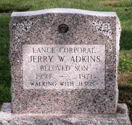 ADKINS, JERRY W. - Cook County, Illinois   JERRY W. ADKINS - Illinois Gravestone Photos