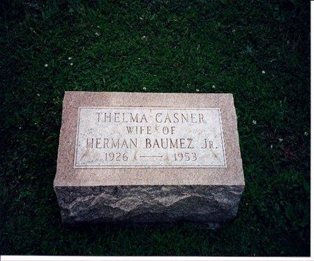 BAUMEZ JR, THELMA - DeKalb County, Illinois | THELMA BAUMEZ JR - Illinois Gravestone Photos
