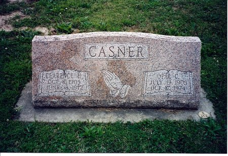 CASNER, OPAL CECELIA - DeKalb County, Illinois | OPAL CECELIA CASNER - Illinois Gravestone Photos