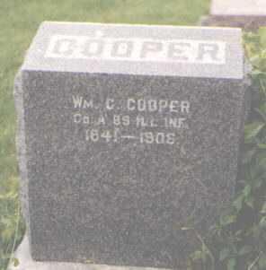 COOPER, WILLIAM C. - DeKalb County, Illinois   WILLIAM C. COOPER - Illinois Gravestone Photos