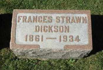 DICKSON, FRANCES - DeKalb County, Illinois | FRANCES DICKSON - Illinois Gravestone Photos