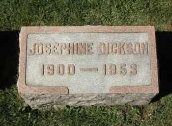 DICKSON, JOSEPHINE - DeKalb County, Illinois | JOSEPHINE DICKSON - Illinois Gravestone Photos