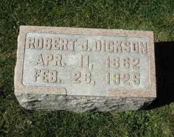 DICKSON, ROBERT - DeKalb County, Illinois | ROBERT DICKSON - Illinois Gravestone Photos