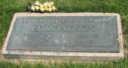 EDMONSON, GERTRUDE M - DeKalb County, Illinois | GERTRUDE M EDMONSON - Illinois Gravestone Photos