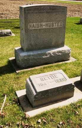 HAISH, NETTIE - DeKalb County, Illinois | NETTIE HAISH - Illinois Gravestone Photos