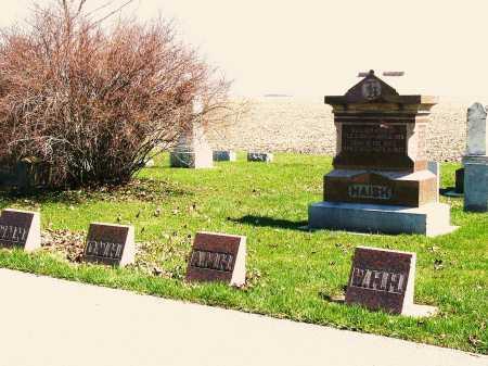 HAISH, WILLIAM H - DeKalb County, Illinois | WILLIAM H HAISH - Illinois Gravestone Photos