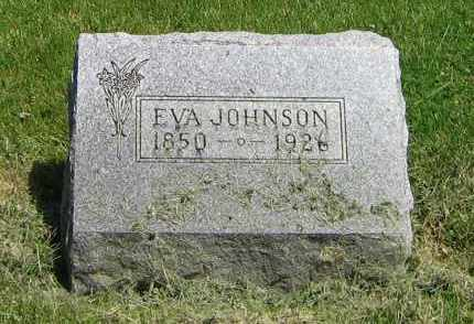 JOHNSON, EVA - DeKalb County, Illinois | EVA JOHNSON - Illinois Gravestone Photos
