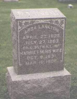 LANKTON, HARRIET M. - DeKalb County, Illinois | HARRIET M. LANKTON - Illinois Gravestone Photos