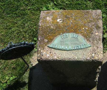 LUCKETT, BENJAMIN H - DeKalb County, Illinois | BENJAMIN H LUCKETT - Illinois Gravestone Photos