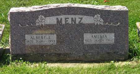 MENZ, AMELIA - DeKalb County, Illinois   AMELIA MENZ - Illinois Gravestone Photos