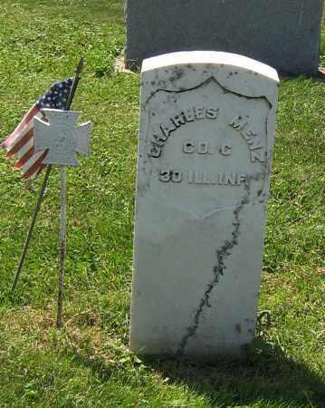 MENZ, CHARLES - DeKalb County, Illinois | CHARLES MENZ - Illinois Gravestone Photos