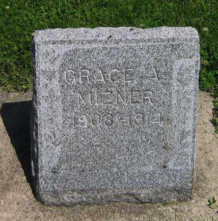 MIZNER, GRACE A - DeKalb County, Illinois | GRACE A MIZNER - Illinois Gravestone Photos