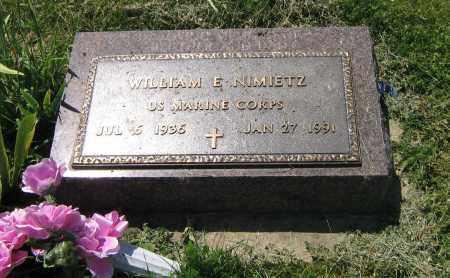 NIMIETZ, WILLIAM E - DeKalb County, Illinois | WILLIAM E NIMIETZ - Illinois Gravestone Photos