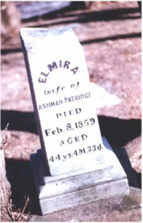 PARTRIDGE, ELMIRA - DeKalb County, Illinois | ELMIRA PARTRIDGE - Illinois Gravestone Photos