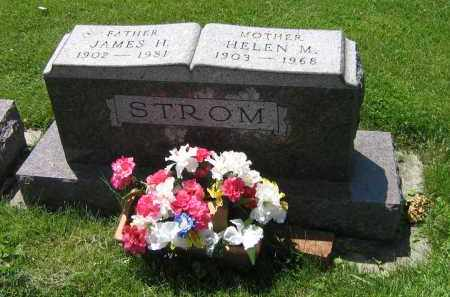 STROM, JAMES H - DeKalb County, Illinois | JAMES H STROM - Illinois Gravestone Photos