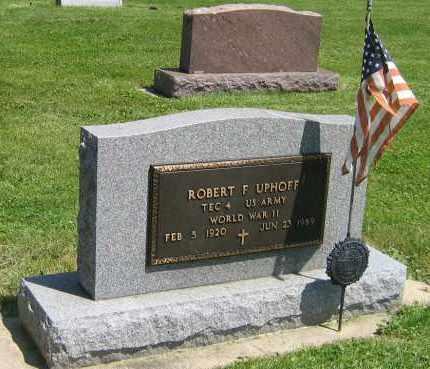 UPHOFF, ROBERT F - DeKalb County, Illinois   ROBERT F UPHOFF - Illinois Gravestone Photos
