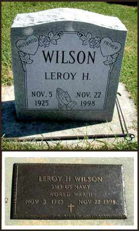 WILSON, LEROY - DeKalb County, Illinois | LEROY WILSON - Illinois Gravestone Photos