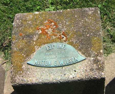 WILSON, MILTON E - DeKalb County, Illinois   MILTON E WILSON - Illinois Gravestone Photos