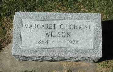 WILSON, MARGARET - DeKalb County, Illinois | MARGARET WILSON - Illinois Gravestone Photos